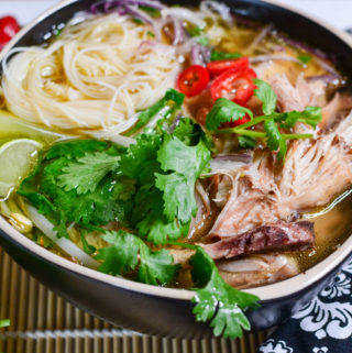 Mealthy: Chicken Pho Noodle Soup + Video