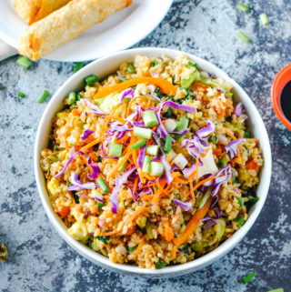 MEALTHY: Vegetable Fried Rice
